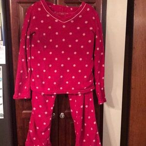 Hot pink polka dot PJ's💕